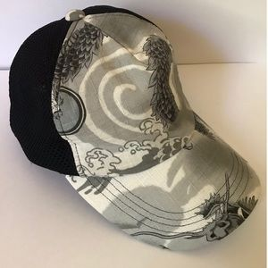 Dragon Print Japanese Streetwear Cap
